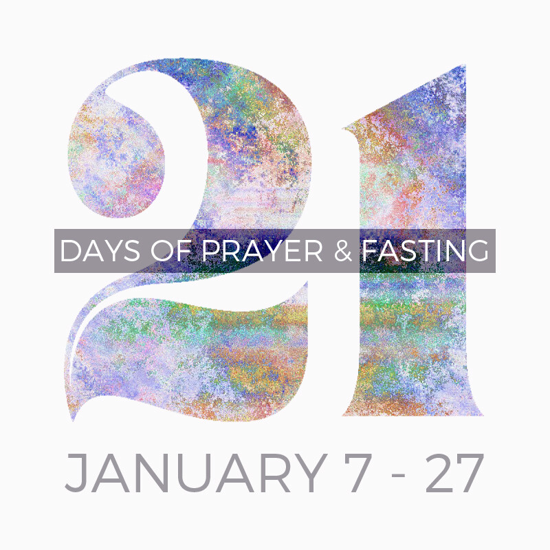 21-Days of Prayer & Fasting
