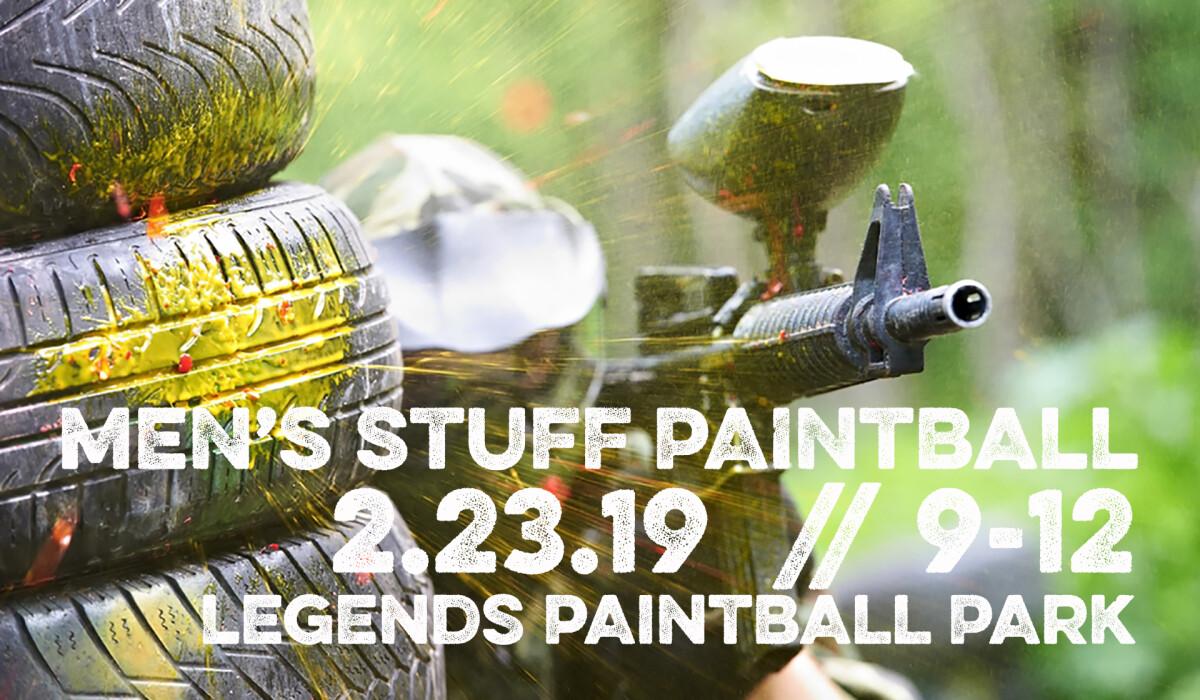 Man Stuff Paintball