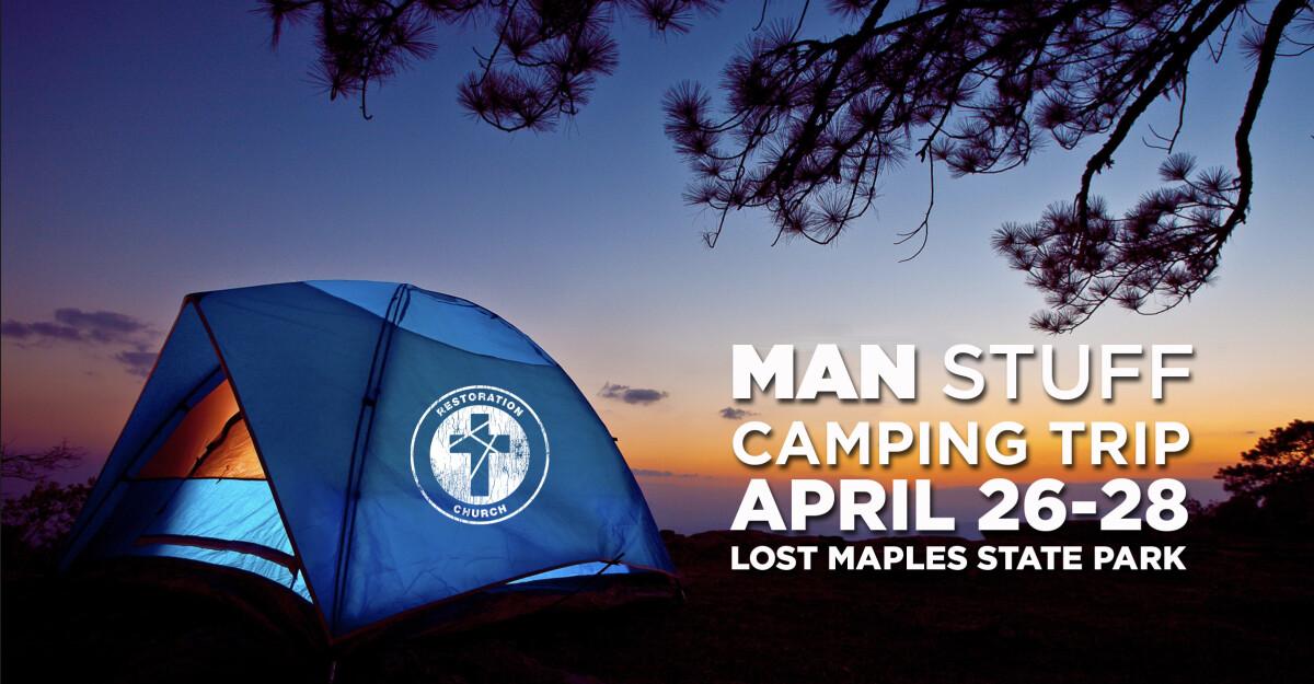 Man Stuff Camping Trip