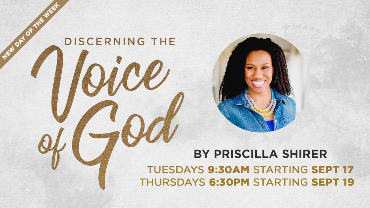 Women's Bible Study - Discerning The Voice of God