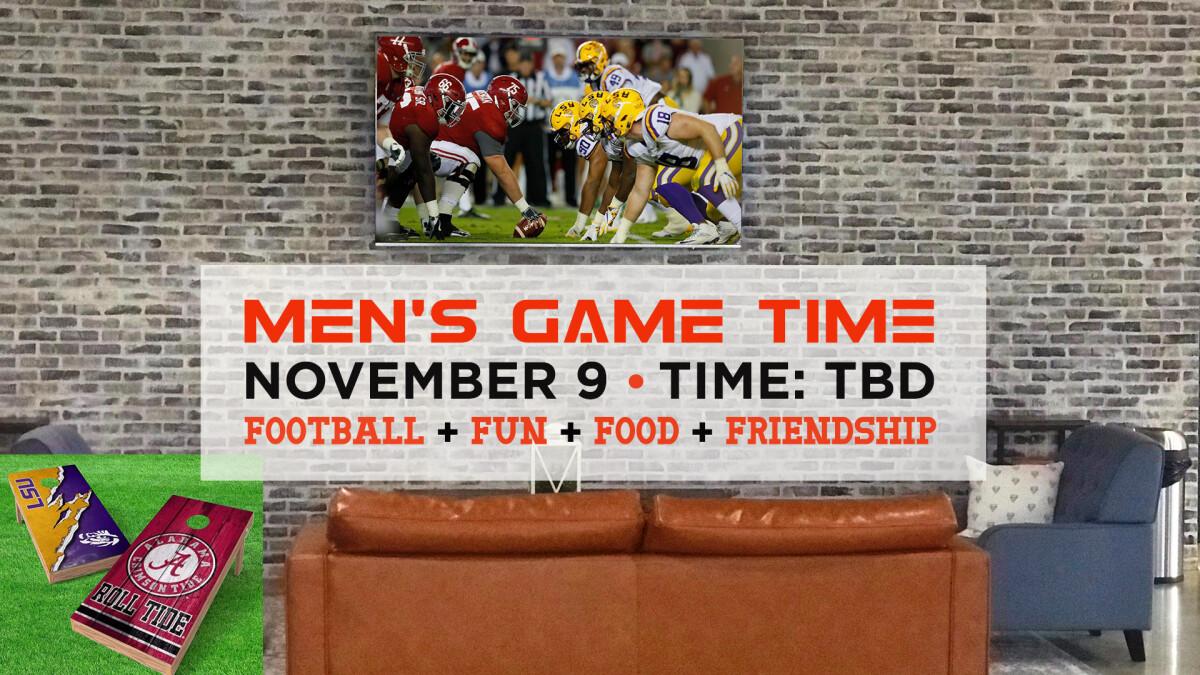 Men's Game Time